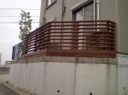 境界ぎりぎりまでデッキを作っちゃおう。 横浜市・藤沢市施工
