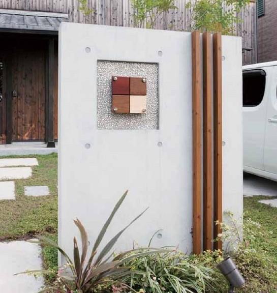 壁面用格子材 エバーアートウッド タカショー1