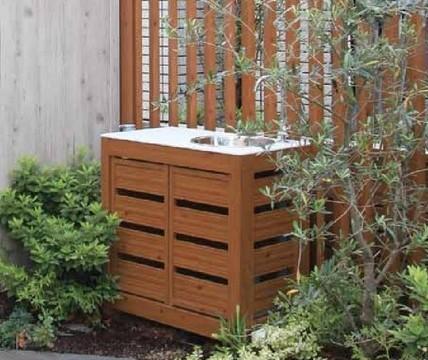 こだわり板タイプ ガーデンシンク タカショー1