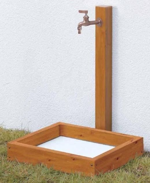 ガーデン水栓柱 タカショー1
