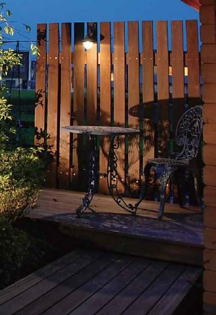 ガーデンウォールライト 1型 LED タカショー1