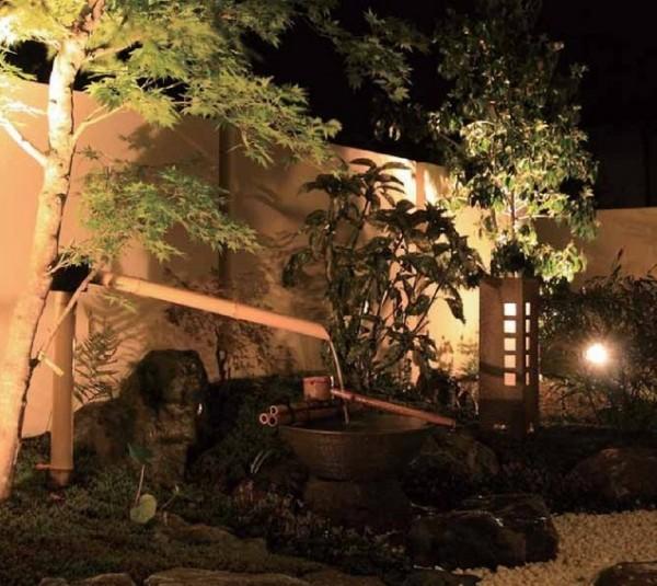 月雫 庭ゆらぎあり 和風ローボルトライト LED タカショー1