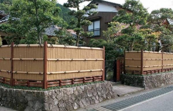 エバー13型セット(京銘竹・図面竹) タカショー1