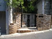 温かみのあるレンガの外構にリフォーム 横浜市K様邸