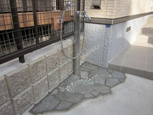 立水栓 横浜市N様邸