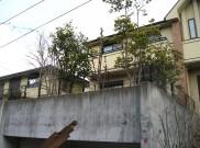 オーダーメイドの造作木製デザインフェンス 横浜市K様邸