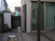 アルミ製 取り外し可能 洗濯物干し柱 横浜市M様邸