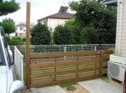 フェンス兼用の大きな扉 横浜市 Y様邸