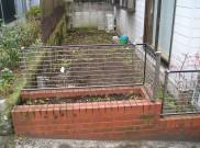 ウッドフェンスとウッドデッキのお庭リフォーム 東京都F様邸
