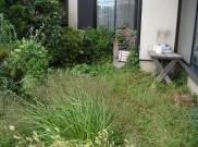 雑草がいっぱいのお庭が管理が楽なお庭に変身 横浜市H様邸