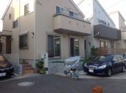 そら色のハシゴの南欧風外構  横浜市H様邸