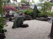 既存庭石を利用した和風造園 港南区F様邸