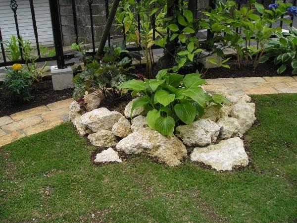 レンガで囲まれた芝のお庭 I様邸泉区